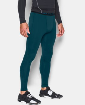 New Arrival Men's UA ColdGear® Armour Compression Leggings  1 Color $49.99
