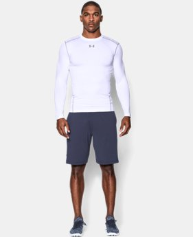 Best Seller Men's UA ColdGear® Armour Compression Crew  4  Colors Available $49.99