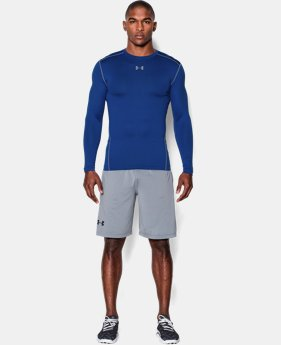 New Arrival  Men's UA ColdGear® Armour Compression Crew LIMITED TIME: FREE SHIPPING 2 Colors $59.99