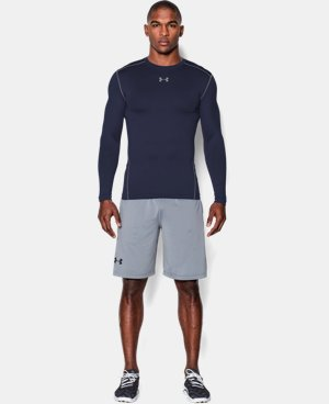 Men's UA ColdGear® Armour Compression Crew LIMITED TIME: UP TO 30% OFF 1 Color $44.99