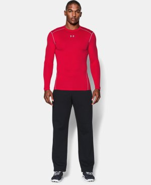Men's UA ColdGear® Armour Compression Crew LIMITED TIME OFFER + FREE U.S. SHIPPING 1 Color $37.49 to $49.99