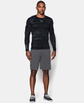 Men's UA ColdGear® Armour Printed Compression Crew LIMITED TIME OFFER + FREE U.S. SHIPPING 3 Colors $44.99