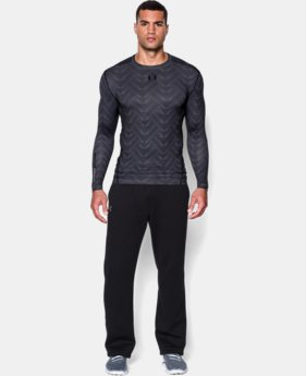 Men's UA ColdGear® Armour Printed Compression Crew  1 Color $35.99 to $44.99