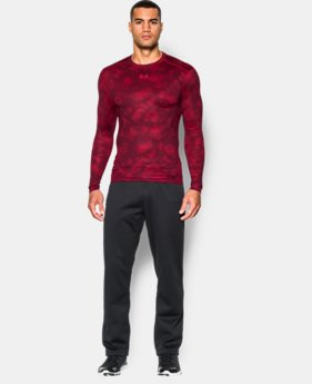 Men's UA ColdGear® Armour Printed Compression Crew  1 Color $26.99 to $33.74