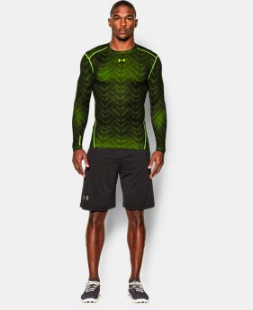 Men's UA ColdGear® Armour Printed Compression Crew LIMITED TIME: FREE SHIPPING 2 Colors $69.99