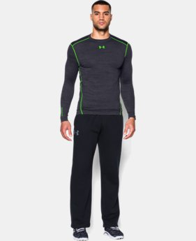 Men's UA ColdGear® Armour Twist Compression Crew LIMITED TIME OFFER + FREE U.S. SHIPPING 1 Color $44.99