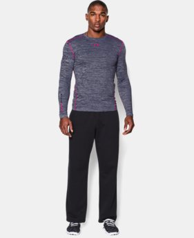 Men's UA ColdGear® Armour Twist Compression Crew  4 Colors $35.99 to $44.99