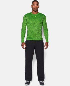 Men's UA ColdGear® Armour Twist Compression Crew LIMITED TIME OFFER + FREE U.S. SHIPPING 2 Color