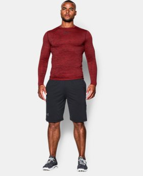 Men's UA ColdGear® Armour Twist Compression Crew LIMITED TIME OFFER 1 Color $41.99