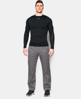 Men's UA ColdGear® Armour Graphic Compression Crew  1 Color $52.99