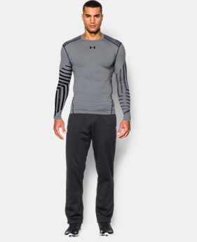 Men's UA ColdGear® Armour Graphic Compression Crew  1 Color $35.99 to $44.99