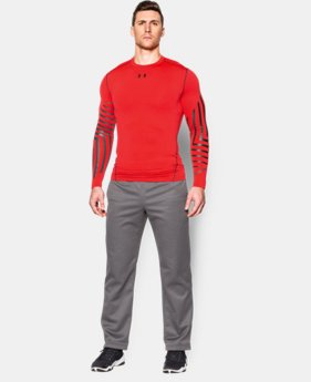 Men's UA ColdGear® Armour Graphic Compression Crew  2 Colors $35.99 to $44.99