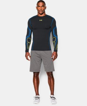 Men's UA ColdGear® Armour Graphic Compression Crew   $44.99