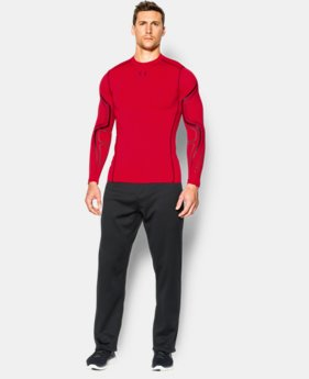 Men's UA ColdGear® Armour Graphic Compression Crew  1 Color $44.99