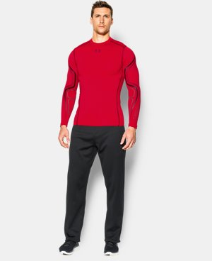 Men's UA ColdGear® Armour Graphic Compression Crew  1 Color $33.74