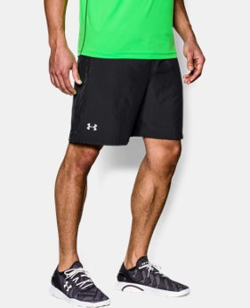 "New Arrival Men's UA Launch Run 7"" Shorts LIMITED TIME: FREE SHIPPING 3 Colors $32.99"