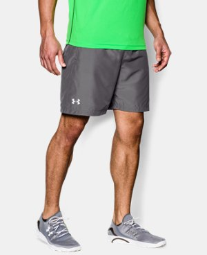 "Men's UA Launch Run 7"" Shorts  4 Colors $28.99 to $37.99"