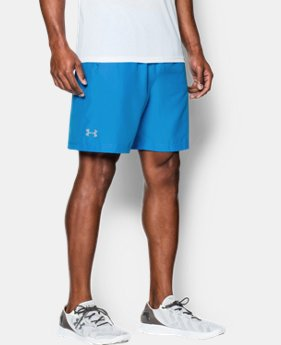 "Men's UA Launch Run 7"" Shorts  1 Color $28.99 to $37.99"