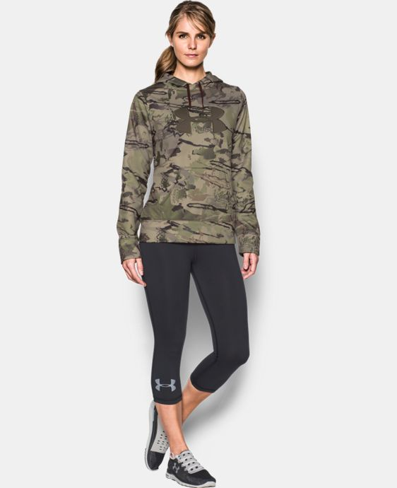 Women's UA Camo Big Logo Hoodie LIMITED TIME: FREE U.S. SHIPPING 1 Color $33.74 to $42.74