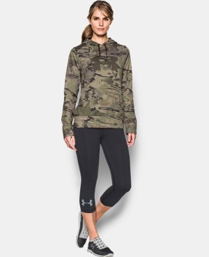 Women's UA Camo Big Logo Hoodie LIMITED TIME: FREE SHIPPING 1 Color $63.99
