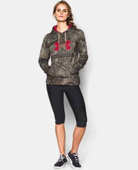 Women's UA Camo Big Logo Hoodie  3 Colors $44.99