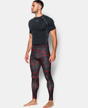 Men's UA Combine® Training HeatGear® Armour Compression Leggings