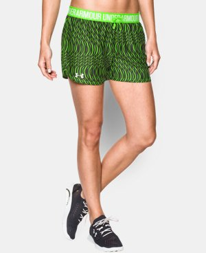 Women's UA Play Up Printed Shorts LIMITED TIME: FREE SHIPPING 2 Colors $20.24 to $26.99