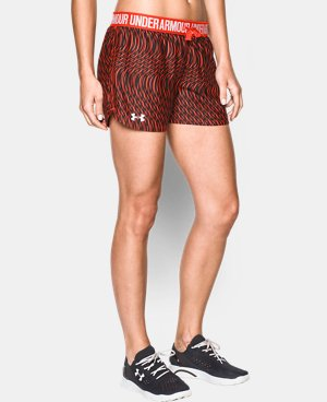 Women's UA Play Up Printed Shorts  1 Color $26.99