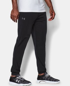 Men's UA Relentless Warm-Up Pants — Tapered Leg  3 Colors $39.99