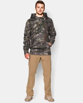 Men's UA Caliber Camo Hoodie — Tall  1 Color $47.99