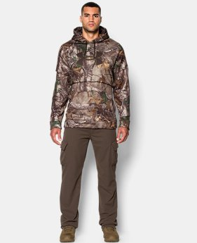 Men's UA Caliber Camo Hoodie — Tall LIMITED TIME: FREE U.S. SHIPPING 1 Color $79.99