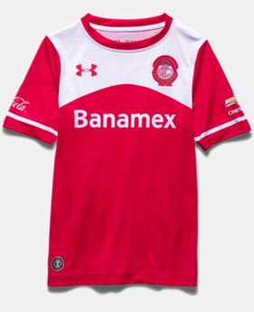 Boys' Toluca 15/16 Home Replica Jersey