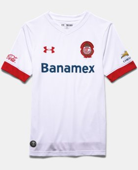 Boys' Toluca Replica Away 15/16 Jersey