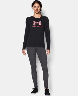Women's UA Camo Logo Long Sleeve   1 Color $22.99