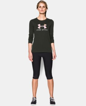 Women's UA Camo Logo Long Sleeve