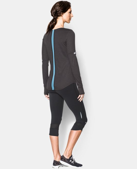 Women's UA Charged Wool Long Sleeve LIMITED TIME: FREE U.S. SHIPPING 3 Colors $50.99 to $67.99