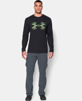 Men's UA 3D Antler Long Sleeve T-Shirt  4 Colors $17.99 to $22.99