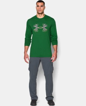 Men's UA 3D Antler Long Sleeve T-Shirt LIMITED TIME: FREE U.S. SHIPPING 1 Color $17.99