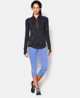 Women's UA Fly Fast Luminous 1/2 Zip  1 Color $37.49