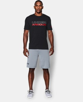 Men's UA Wordmark T-Shirt LIMITED TIME: FREE SHIPPING 1 Color $24.99