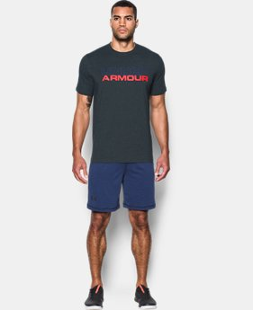 Men's UA Wordmark T-Shirt  1 Color $17.49