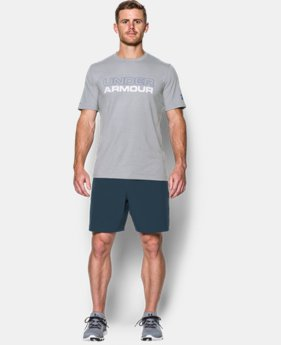 Men's UA Wordmark T-Shirt  4 Colors $29.99