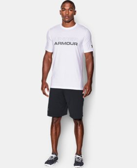 Men's UA Wordmark T-Shirt LIMITED TIME: FREE SHIPPING 2 Colors $24.99
