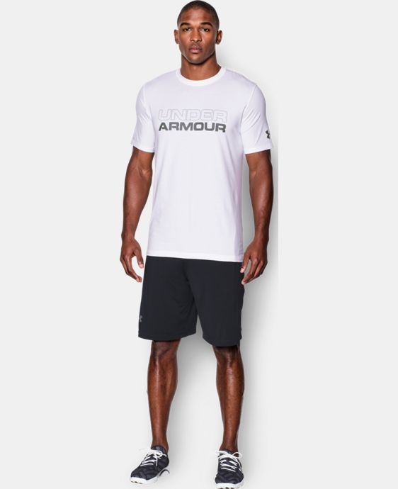 Men's UA Wordmark T-Shirt LIMITED TIME: FREE SHIPPING  $29.99