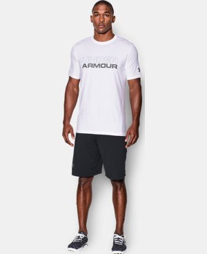 Men's UA Wordmark T-Shirt LIMITED TIME: FREE SHIPPING 3 Colors $29.99