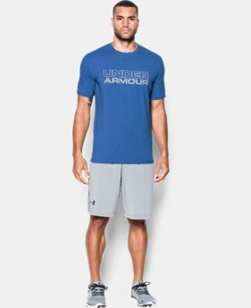 New Arrival  Men's UA Wordmark T-Shirt  1 Color $29.99
