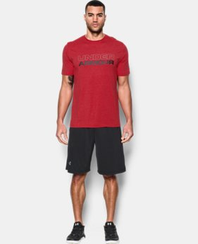 Men's UA Wordmark T-Shirt  2  Colors $17.99