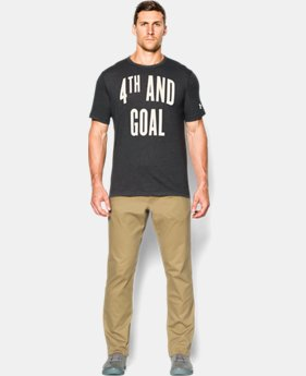 Men's UA 4th And Goal T-Shirt