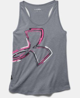 Girls' UA Half-Time Logo Tank