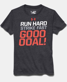 Boys' UA Soccer Run Strike T-Shirt